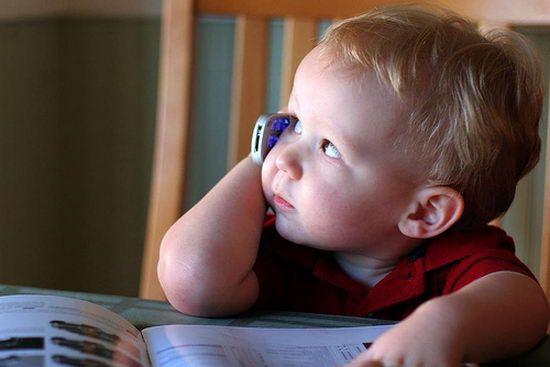 Brezžične tehnologije so lahko nevarni za otroke