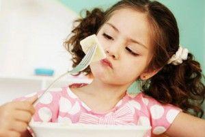 Zašto dijete odbija jesti?