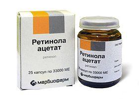 retinol acetat