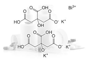 Bismut tripotasiu dicitratobismuthate