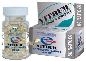 Vitrum vitamina E.